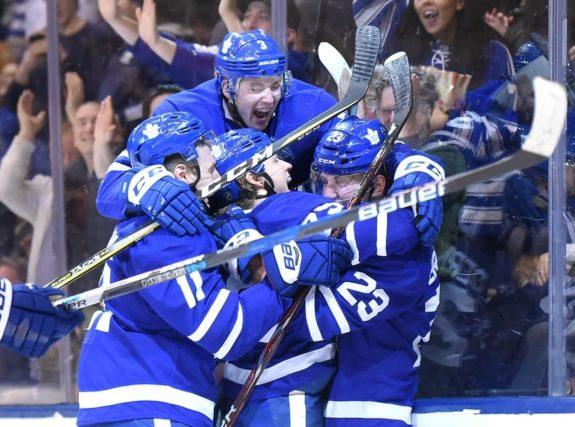 Maple Leafs defenceman Travis Dermott