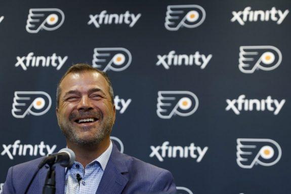 Alain Vigneault, Philadelphia Flyers head coach