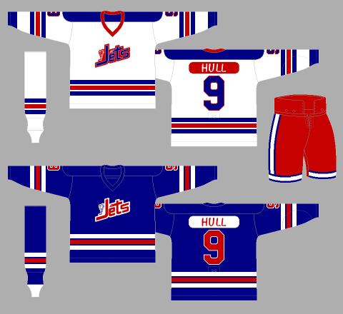 01d9870ca9e Winnipeg Jets 1972-73 Jerseys