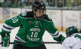 UND Hockey: Energized Simonson Looking to Stay in the Lineup