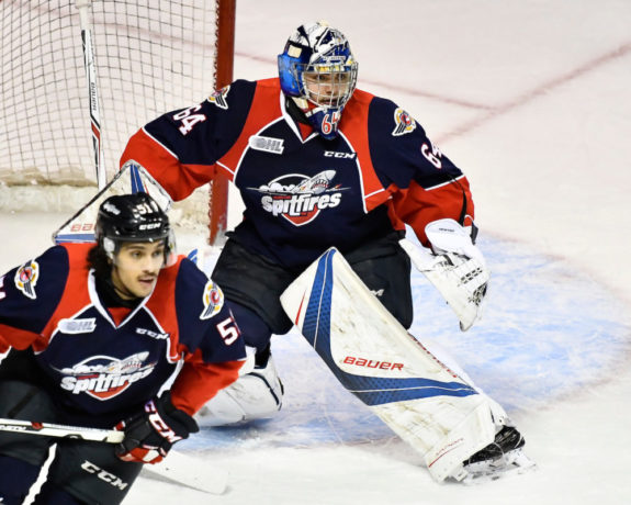 Michael DiPietro, Windsor Spitfires, OHL, 2017 NHL Draft