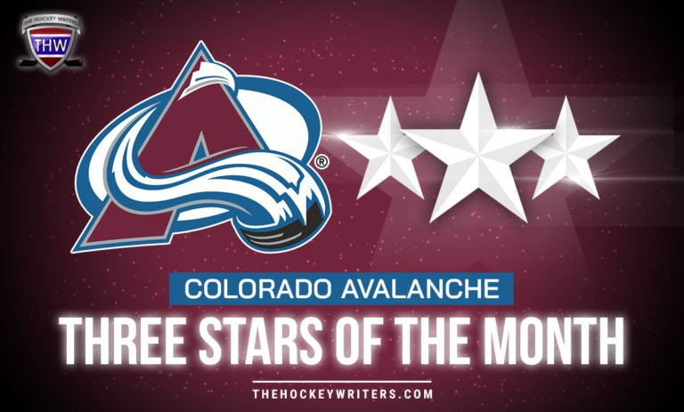 Three Stars of the Month Colorado Avalanche