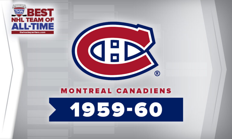 THW Best NHL Team of All-Time Montreal Canadiens 1959-60