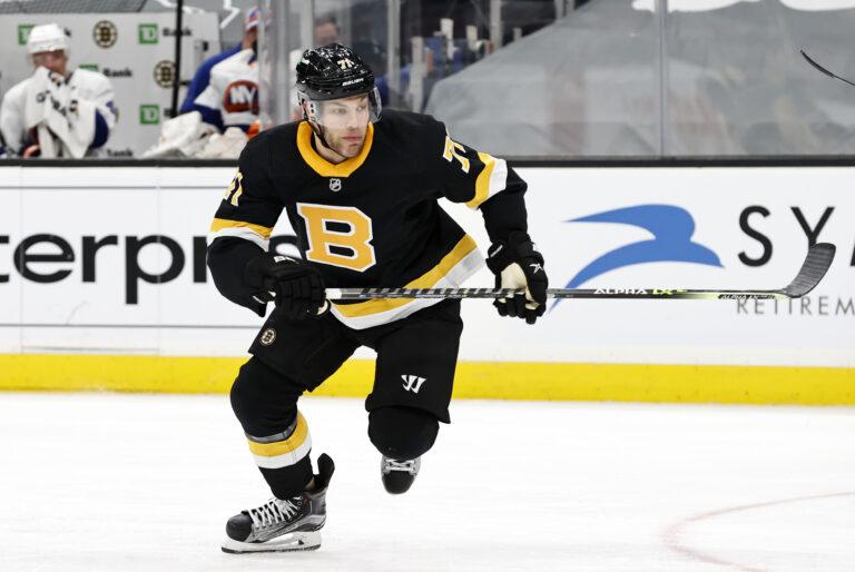 Taylor Hall Boston Bruins
